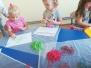 Zajęcia sensoryczno-plastyczne: makarony